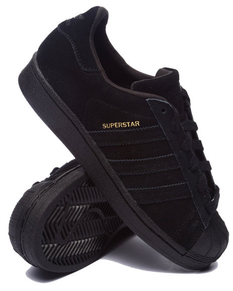 Adidas - Boys Black Superstar Cities Sneakers (3.5-7)