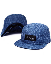 5-Panel/Camper - Fish Scale Camp 5-Panel Hat
