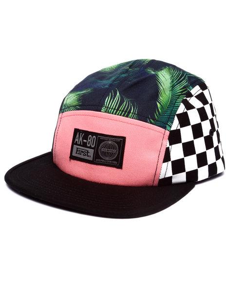 Ur-ID 223227 AKOO - Men Black Nassau 5-Panel Hat