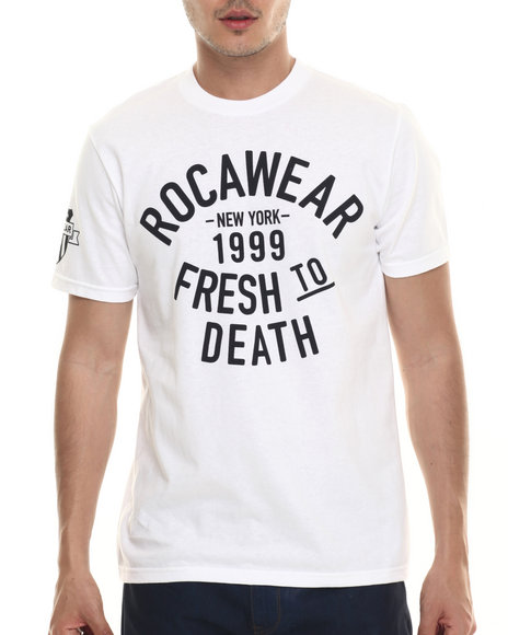 Rocawear - Men White Bodega Tee
