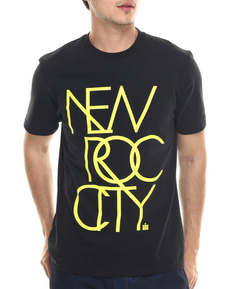 Ur-ID 218072 Rocawear - Men Black New Roc City Tee