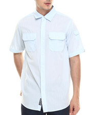 Shirts - Slub Poplin S/S Button-down