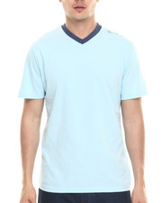 T-Shirts - Heathered V-Neck Tee