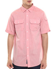 Rocawear - Slub Poplin S/S Button-down