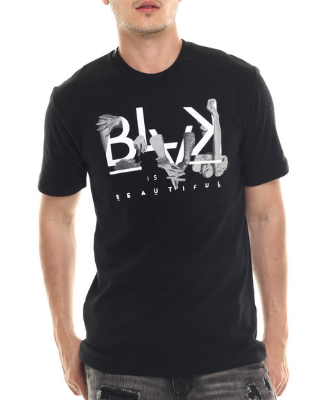 Ur-ID 218041 Rocawear BLAK - Men Black Blak Is Beautiful Tee