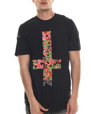 Men - Broken Flowers Tee