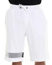 Men - Mesh Overlay Shorts