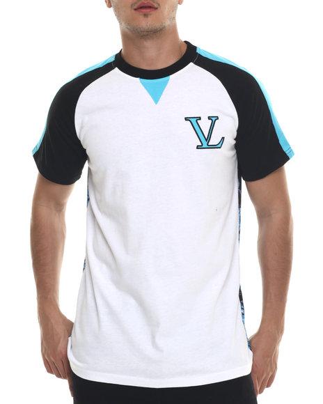 Vampire Life - Men White V L Floral T-Shirt