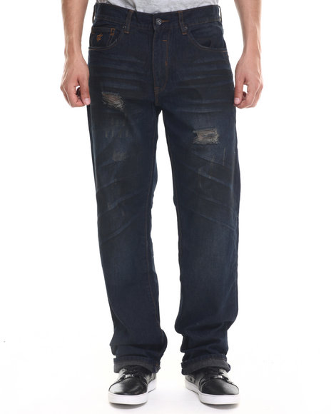 Rocawear - Men Blue Darkest Blue Jeans