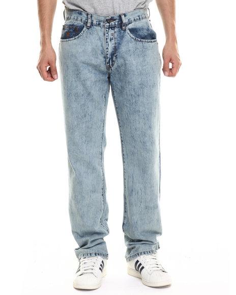 Ur-ID 218097 Rocawear - Men Medium Wash Cloudy Sky Jeans