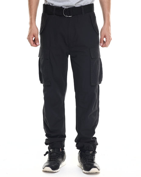 Rocawear - Men Black Trooper Cargo Pants