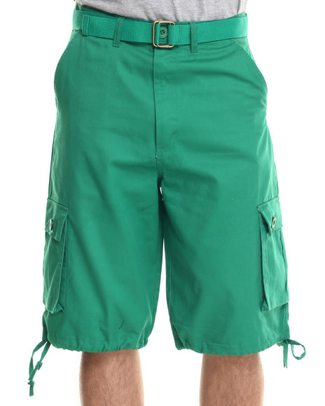 Basic Essentials Green Shorts