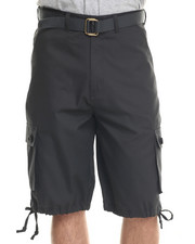 Basic Essentials - T H C Basic Twill Cargo Shorts