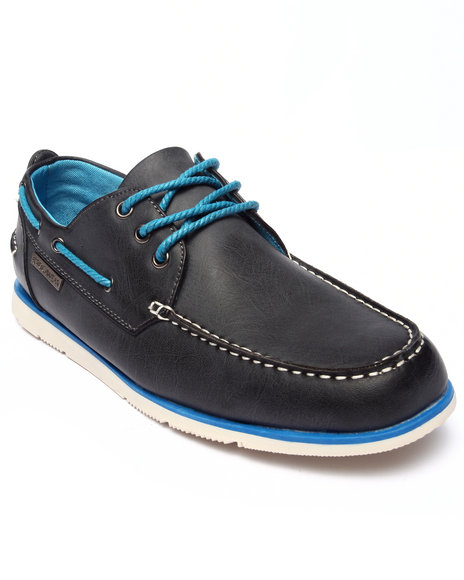 Ur-ID 218168 Rocawear - Men Grey Laced Boat Shoe