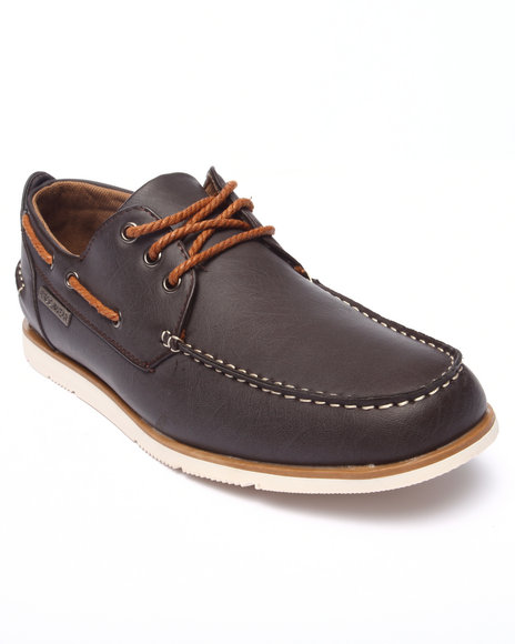 Ur-ID 218171 Rocawear - Men Brown Laced Boat Shoe
