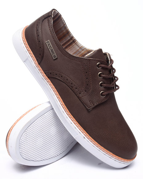 Ur-ID 218173 Rocawear - Men Brown Cross Over Sneaker
