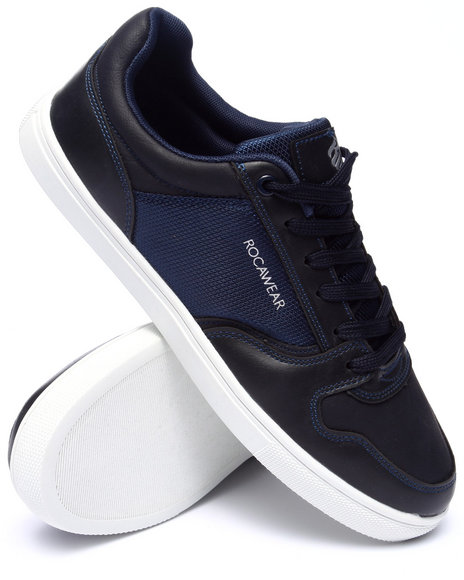 Rocawear - Men Navy Rocawear Classic Lace Up Sneaker - $37.99
