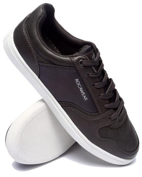 Rocawear - Men Grey Rocawear Classic Lace Up Sneaker
