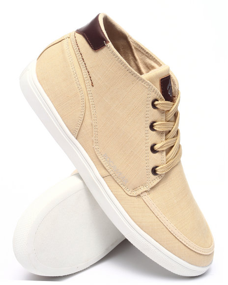 Rocawear - Men Beige Rocawear Hightop Chambray Sneaker