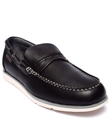 Rocawear - Men Black Classic Boat Shoe