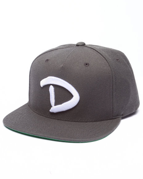 Diamond Supply Co Men Og D Snapback Cap Grey
