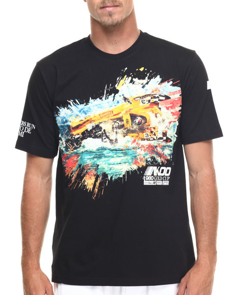 Akoo - Men Black Crash Tee