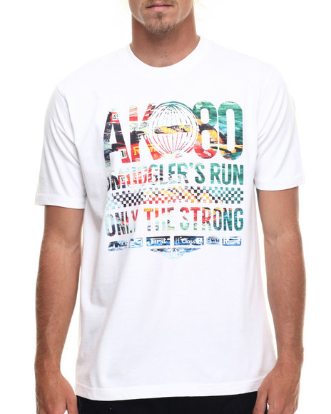 AKOO - Men White Ak-80 Speed Tee