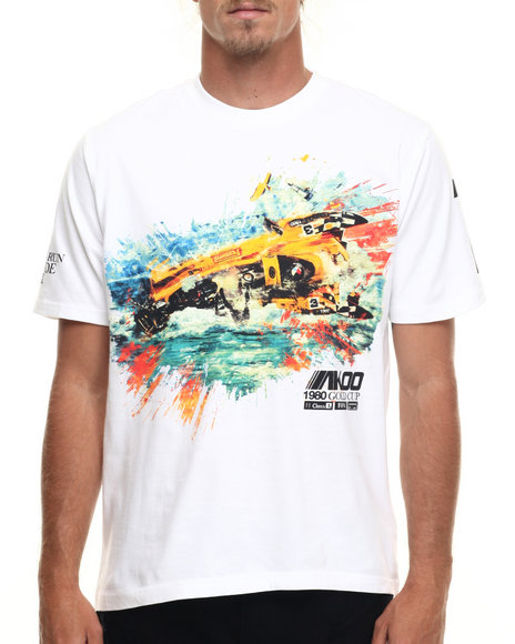 Ur-ID 218193 AKOO - Men White Crash Tee