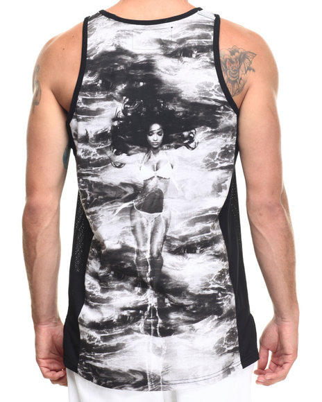 Akoo - Men Black Margarita Knit Tank