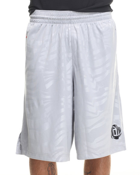 Adidas - Men Grey Rose Bengal 2 Shorts - $19.99
