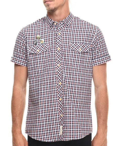 AKOO - Men Multi Interpol S/S Button-Down