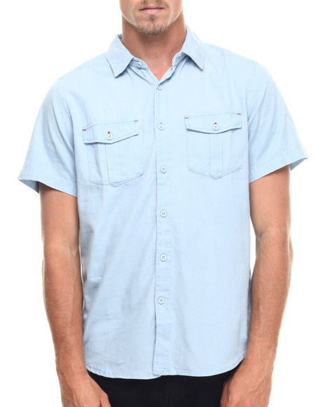 Ecko - Men Blue Denim S/S Button-Down