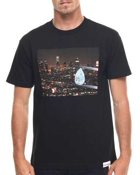 Diamond Supply Co - Men Black La Diamond Tee