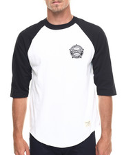 Men - World Renowned Raglan Tee