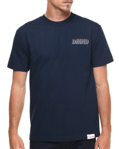 Diamond Supply Co Navy T-Shirts