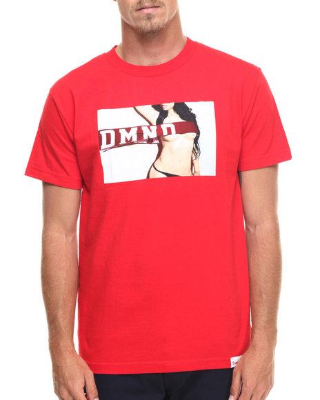 Ur-ID 218215 Diamond Supply Co - Men Red Dmnd Jenny Tee