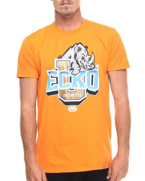 Ur-ID 218219 Ecko - Men Orange Ecko University Graphic T-Shirt