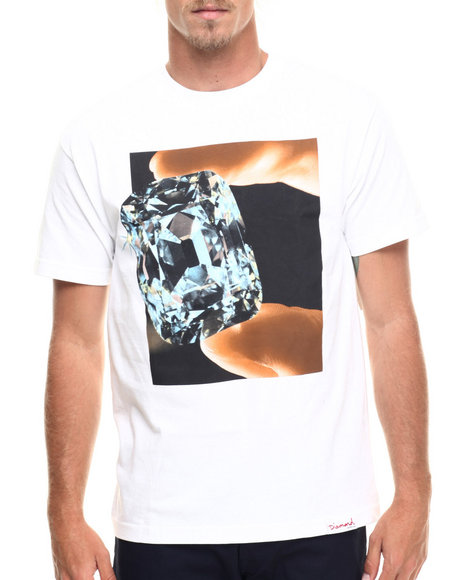 Diamond Supply Co - Men White Gem Tee