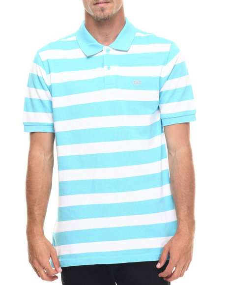 Ur-ID 218257 Ecko - Men Blue Pique Stripe Polo
