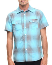 Ecko - Ombre Plaid S/S Button-Down