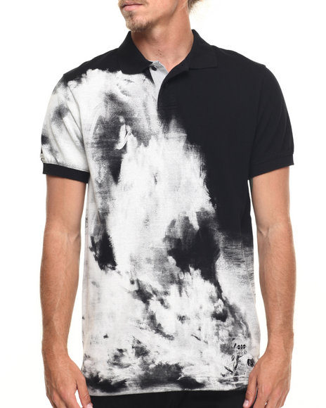 Ur-ID 218184 AKOO - Men Black Miami Drift Polo