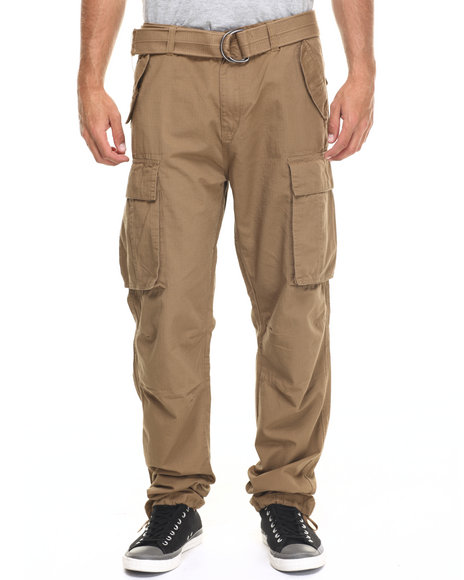 Ur-ID 218239 Rocawear - Men Brown Trooper Cargo Pants