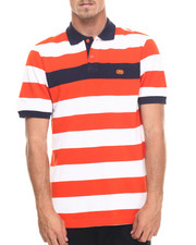 Men - Pique Stripe Polo