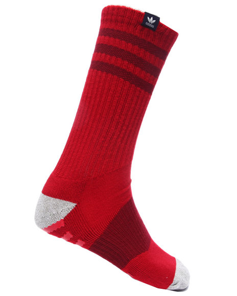 Adidas Men Pro Roller Crew Socks Red