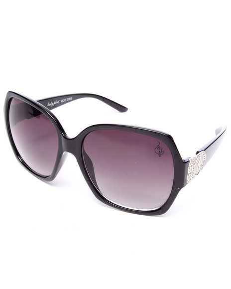 Baby Phat Women Oversized Sunglasses Black