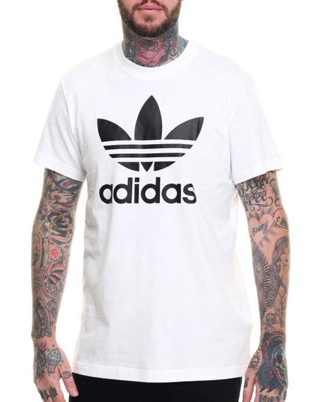 Adidas - Men White Adidas Trefoil S/S Tee