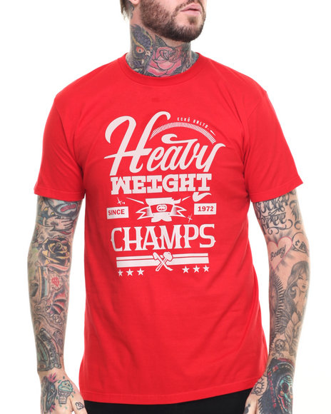 Ecko - Men Red Heavy Weight Champs T-Shirt