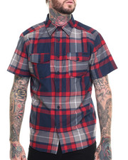 Ecko - Oxford Plaid S/S Button-Down