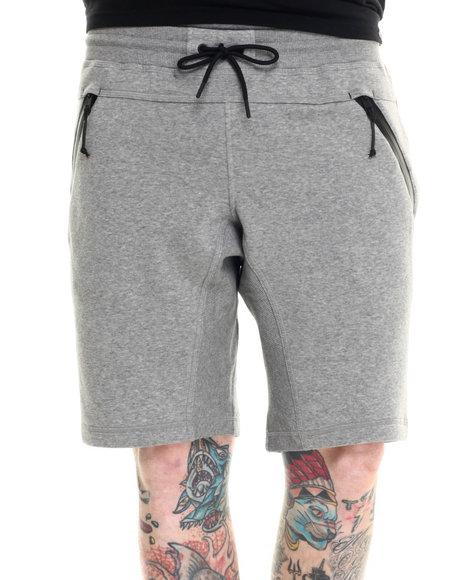 Ur-ID 218312 Adidas - Men Grey Sport Luxe Fleece Shorts
