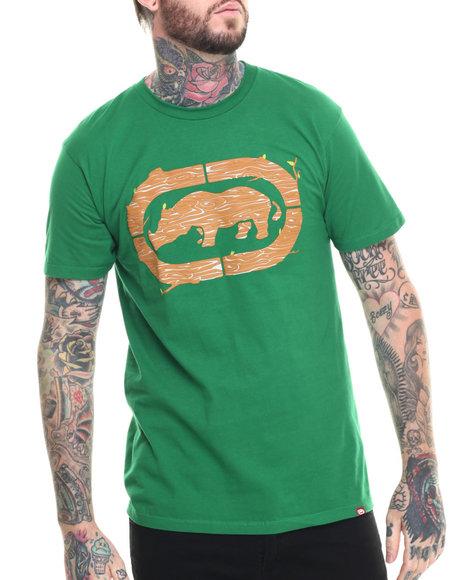 Ur-ID 218314 Ecko - Men Green Tree Logo T-Shirt